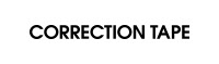 Correction Tape logo