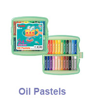 image of oil pastels